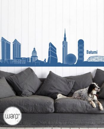 Batumi Skyscrapers Wall Decal - Home - Warp.ge