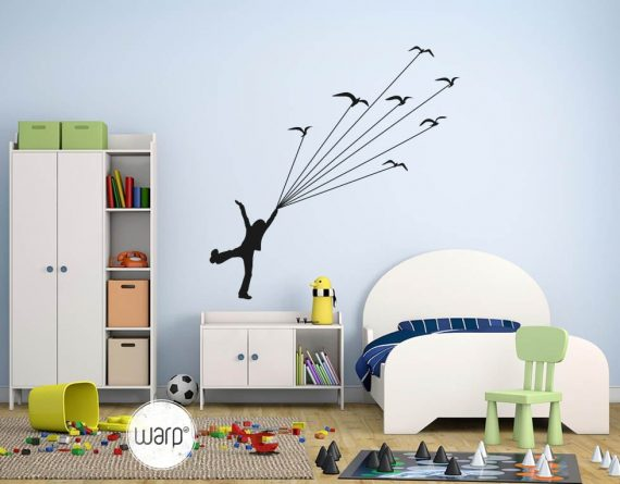 Fly with Birds Wall Decal For Kids - Listing - Warp.ge