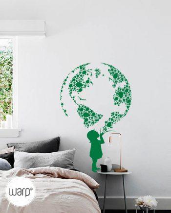 Green Earth Beautiful Room Decal - Listing - Warp.ge
