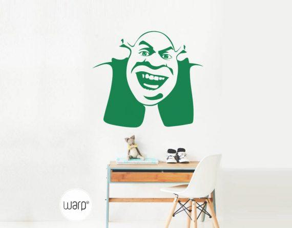 Shrek Kedlis Sticker - Home - Warp.ge