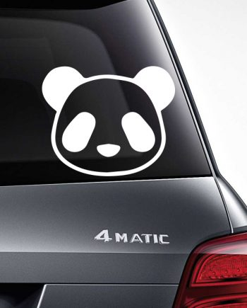 Cute Panda stiker - Warp.ge