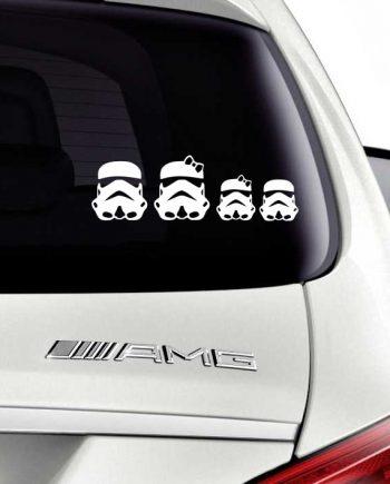 Star Wars Stormtrooper Family - ვარსკვლავური ომები