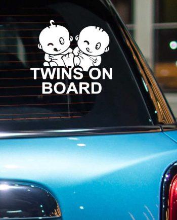 ტყუპები არიან მანქანაში!